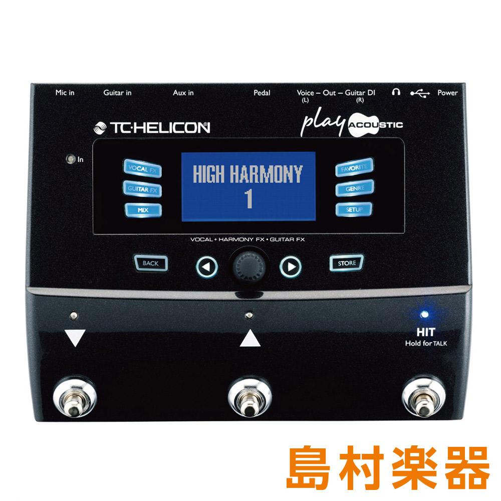 TC-HELICON PLAY ACOUSTIC ボーカルエフェクター 【TCヘリコン】