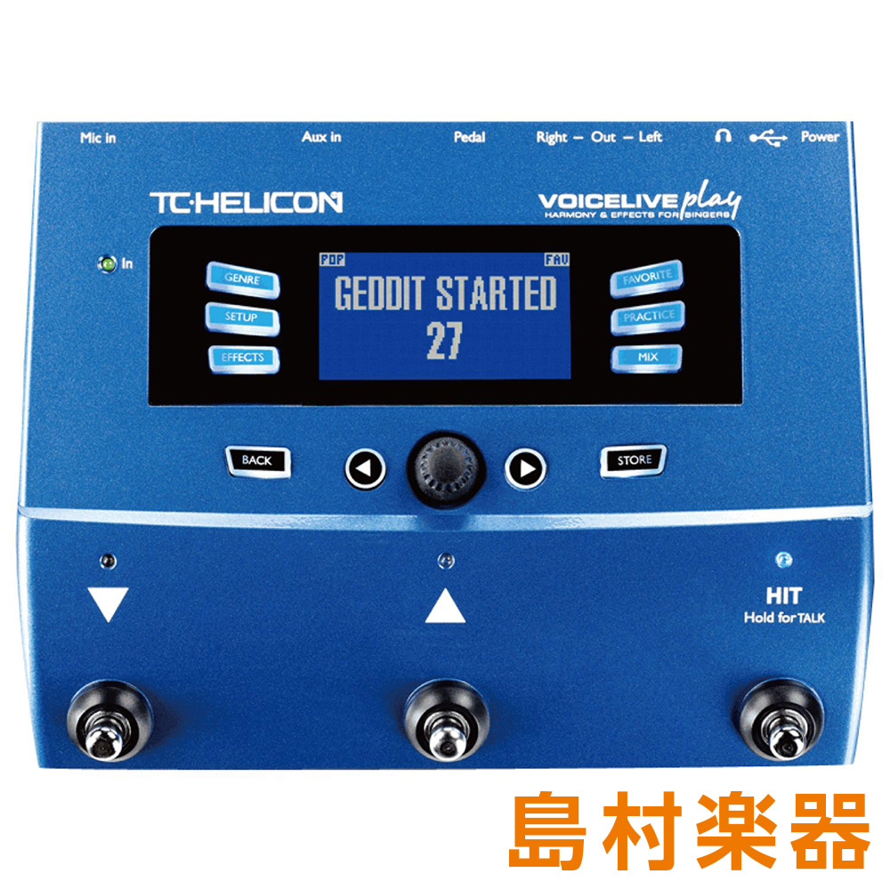 TC-HELICON VOICELIVE VOICELIVE PLAY ライブ向けボイス TC-HELICON PLAY・プロセッサー【TCヘリコン】, patio-import:4bb8acf8 --- sunward.msk.ru