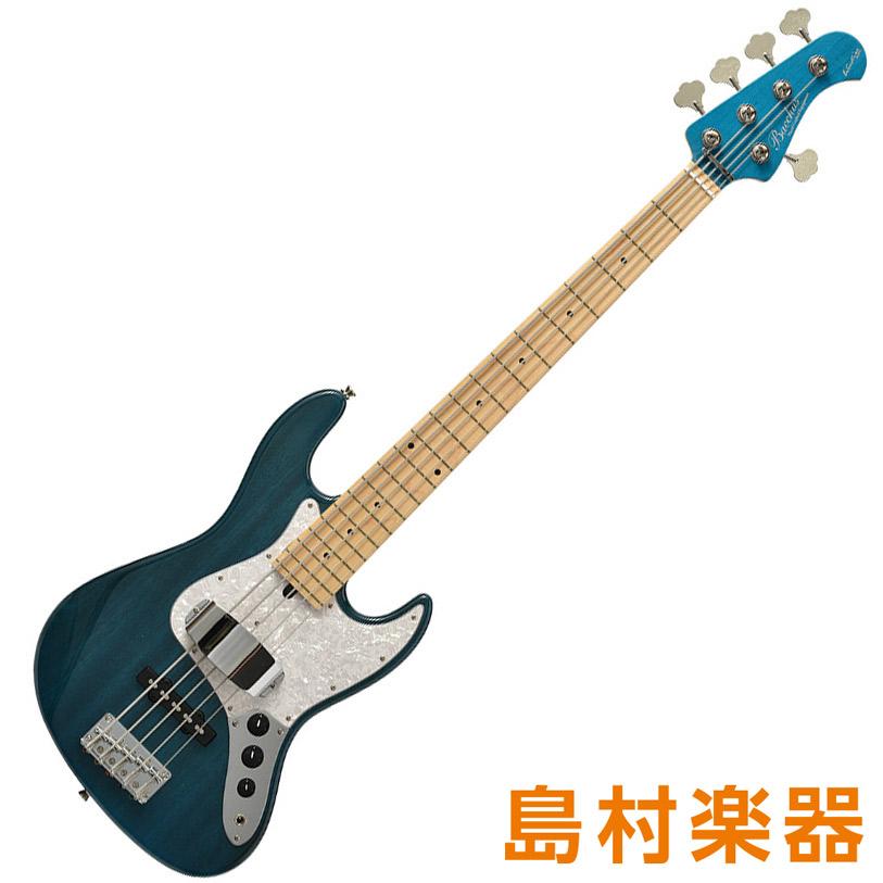 Bacchus WL-534/M S-MAB-MH シースルースノーホワイト 5弦エレキベース グローバルシリーズ 【バッカス】