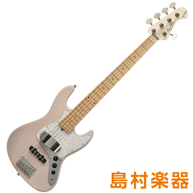 Bacchus WL-534/M S-SW-MH シースルーマリンブルー 5弦エレキベース グローバルシリーズ 【バッカス】