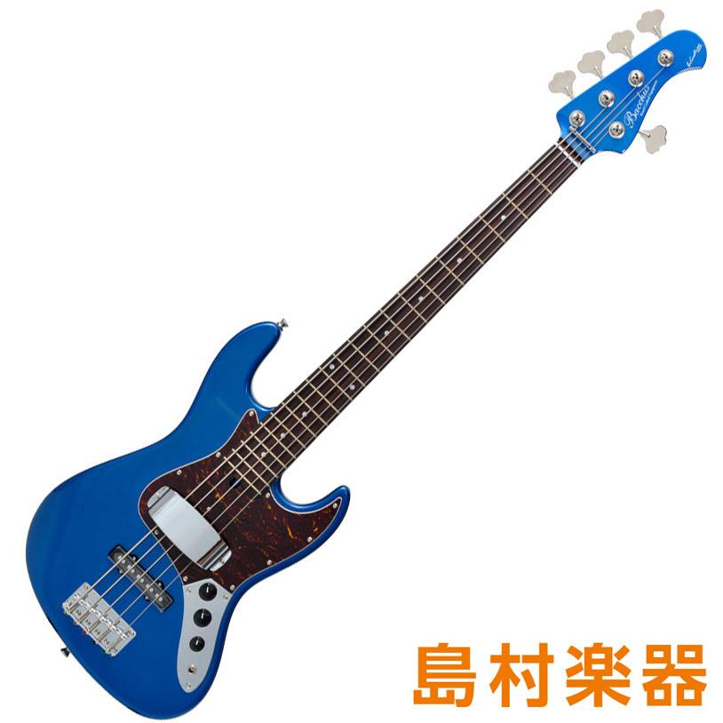Bacchus WL-534 DLPB-MH ダークレイクプラシッドブルー 5弦エレキベース グローバルシリーズ 【バッカス】