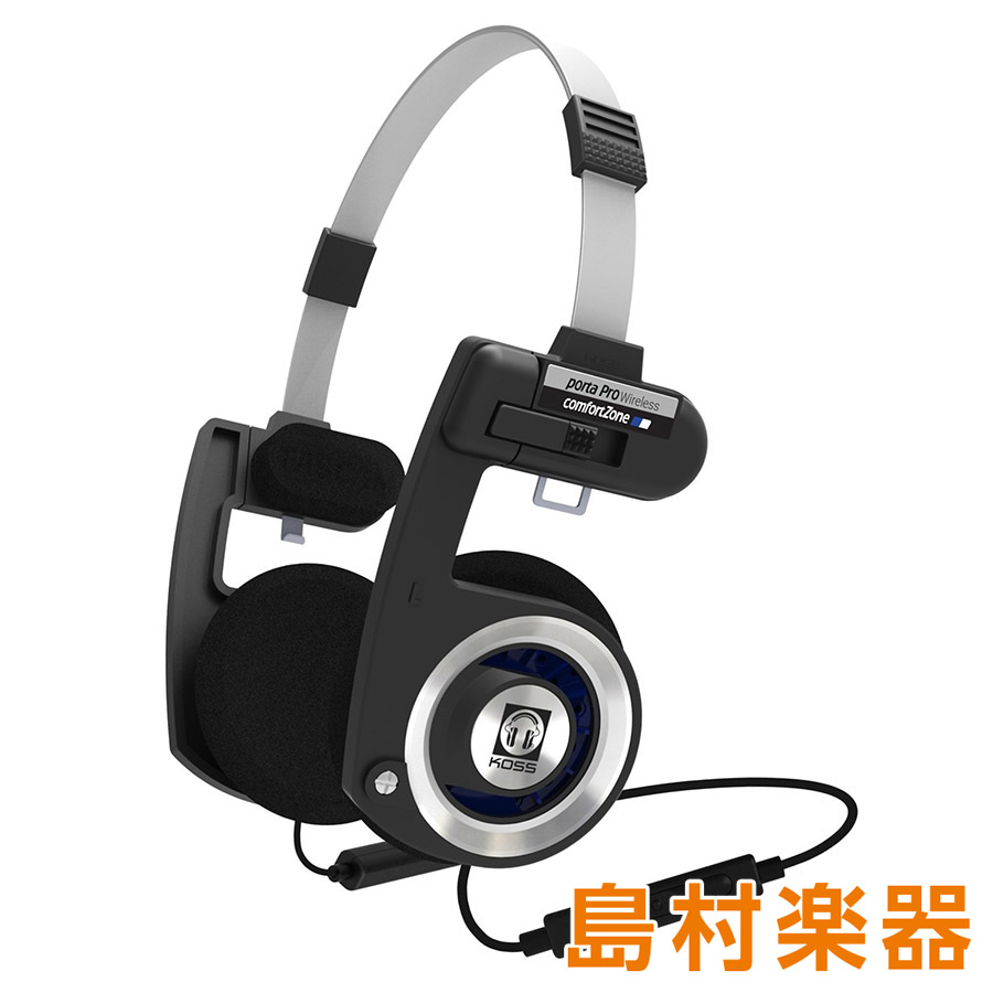 KOSS Porta Pro Wireless 開放型オンイヤーヘッドホン Bluetooth搭載 【コス】