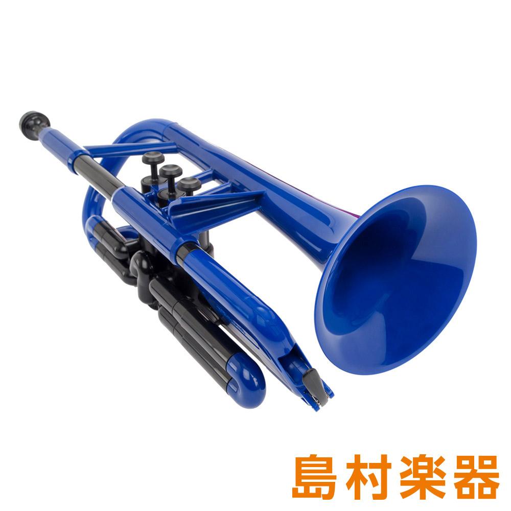 pTrumpet pCornet Blue プラスチックコルネット B♭ 【ピートランペット】