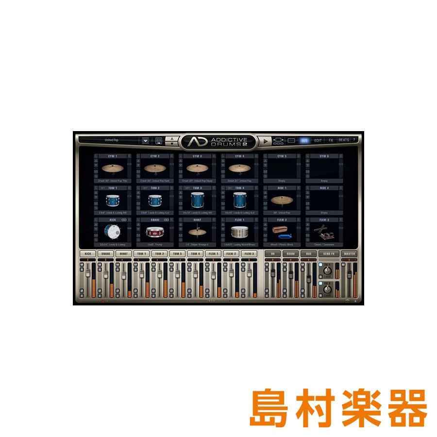 XLN Audio Addictive Drums2 Custom ドラム音源 【XLNオーディオ】