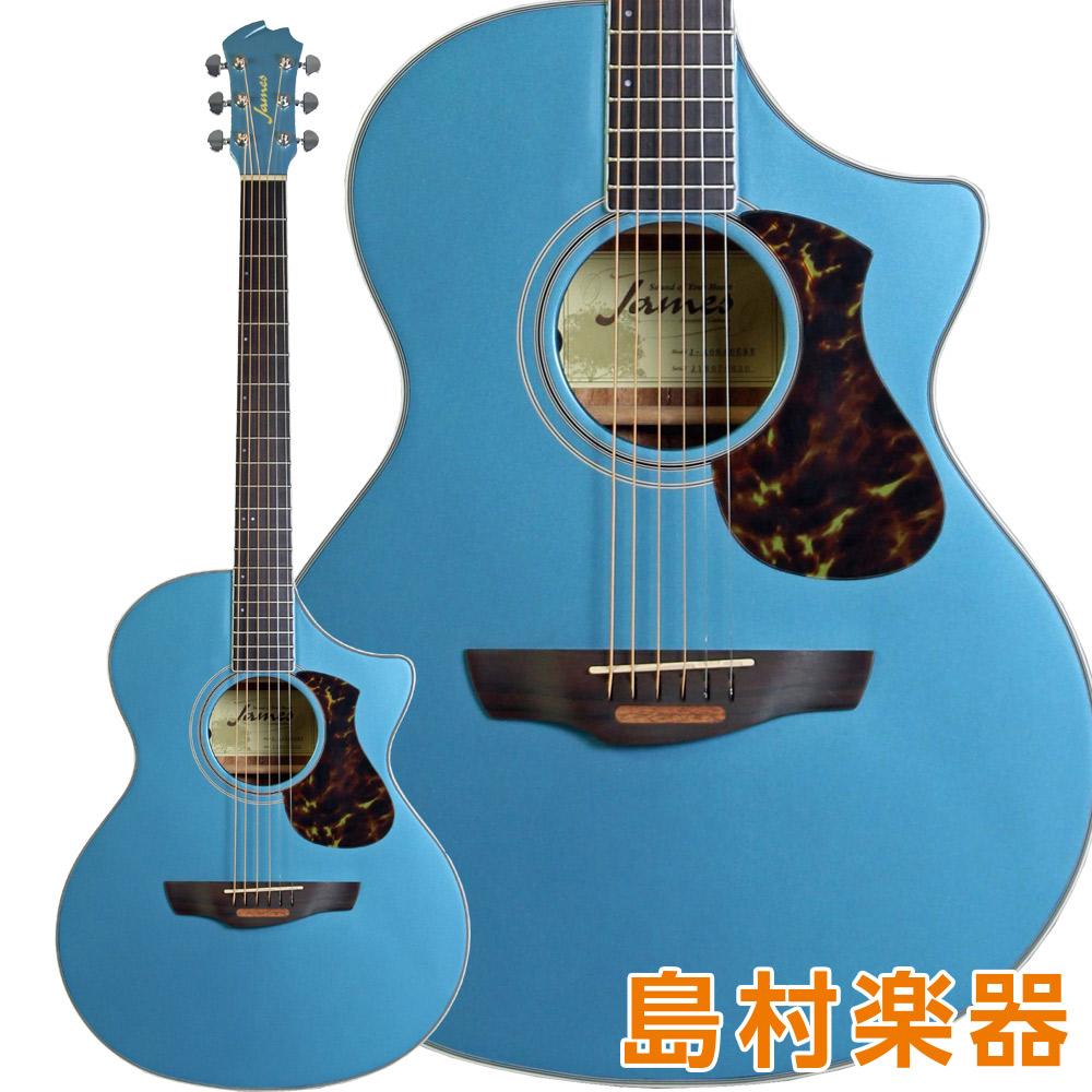 James エレアコギター J-400AC CBU エレアコギター コバルトブルー【ジェームス】 CBU【ジェームス】, Bag shop WAKABAYASHI:84a21ea2 --- jpworks.be