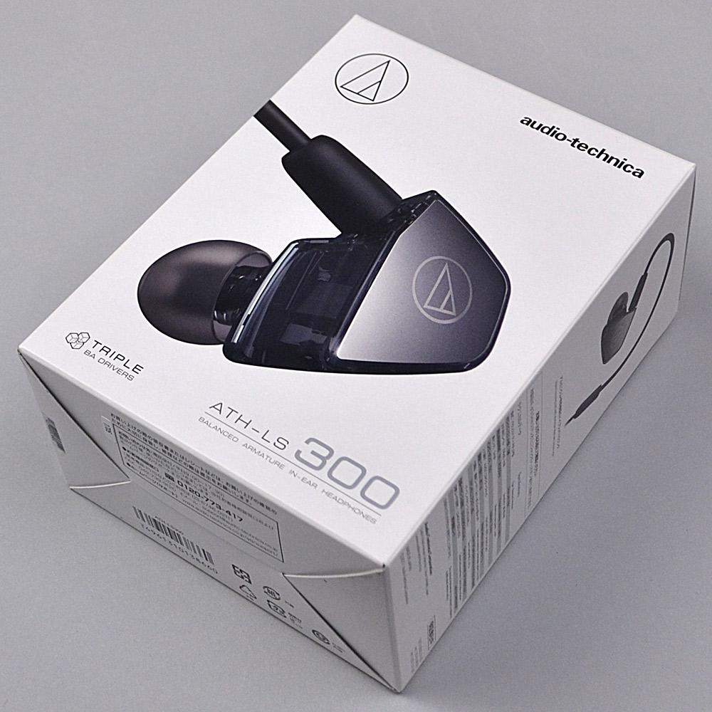 audio-technica ATH-LS300 バランスド・アマチュア型 【オーディオテクニカ】【りんくうプレミアムアウトレット店】【新品未開封品】