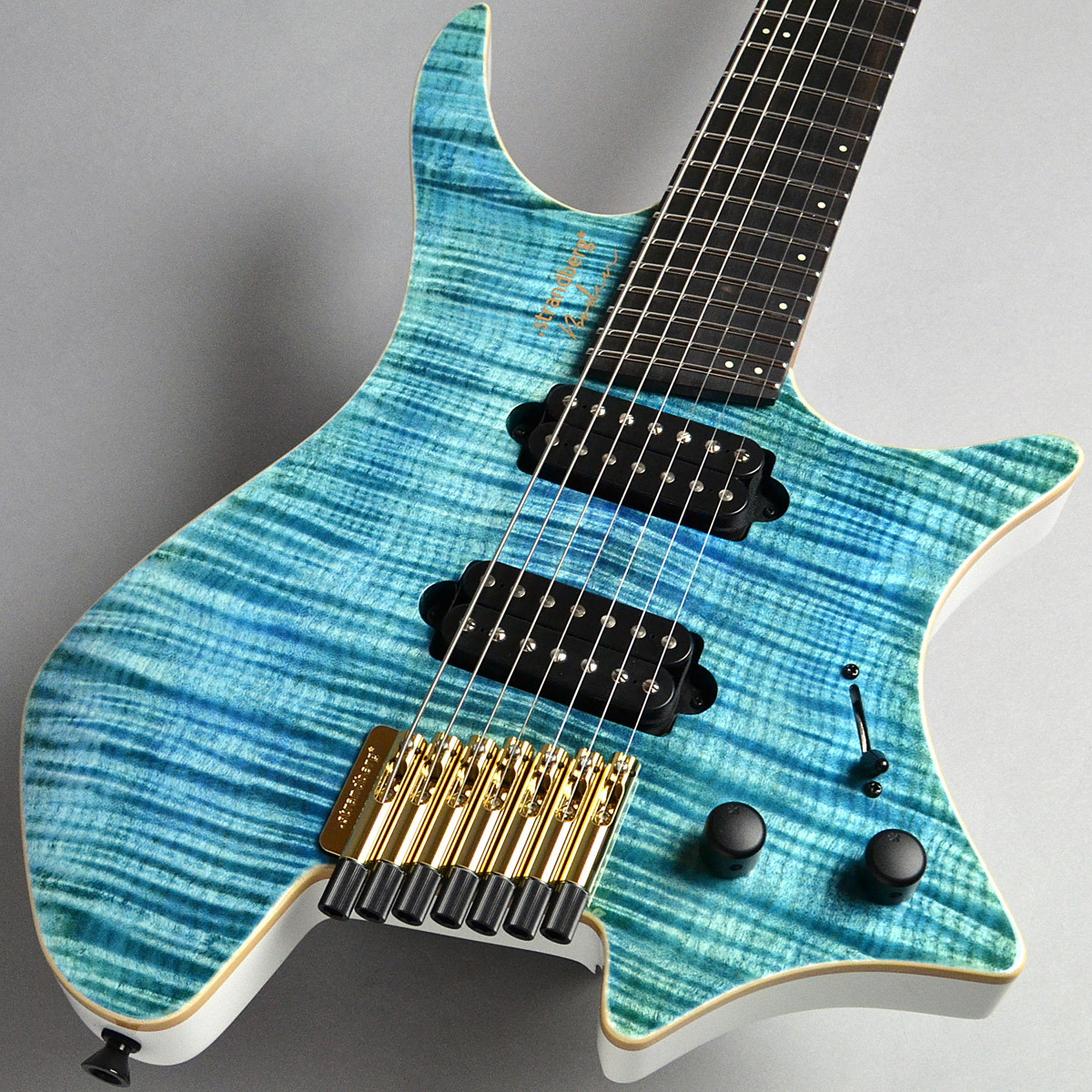 Strandberg Boden J7 Standard Flame Maple/Ebony Blue エレキギター(7弦) 【ストランドバーグ】【新宿PePe店】