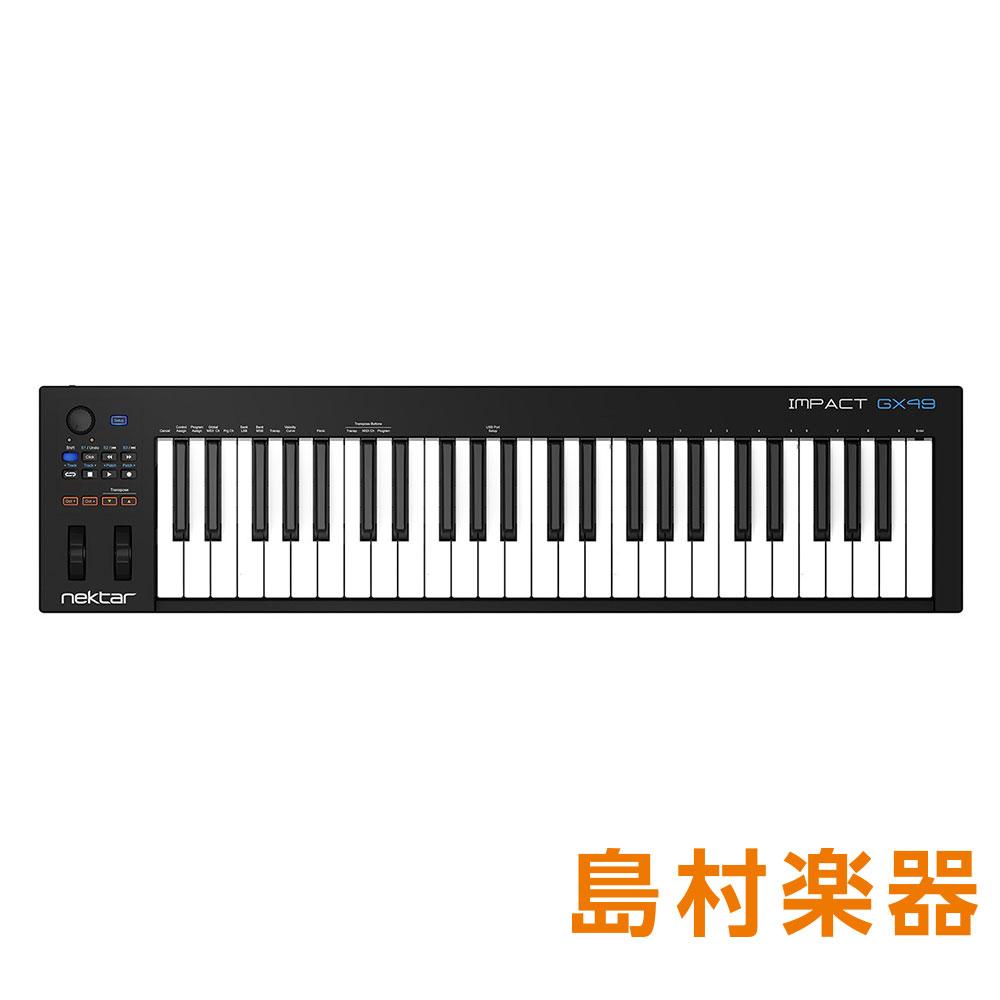 [宅送] Nektar Technology Impact GX49 GX49 MIDIコントローラー/キーボード Impact【ネクターテクノロジー Nektar】, ウィッグ通販 ピューエレガンテ:f85695d7 --- aqvalain.ru