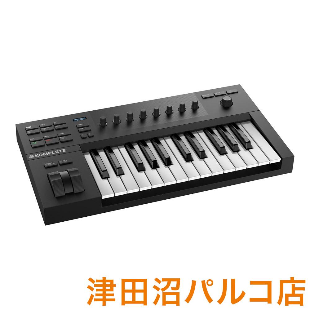 Native Instruments(NI) KOMPLETE KONTROL A25 MIDIキーボード 25鍵盤 【ネイティブインストゥルメンツ KKA25】【津田沼パルコ店】