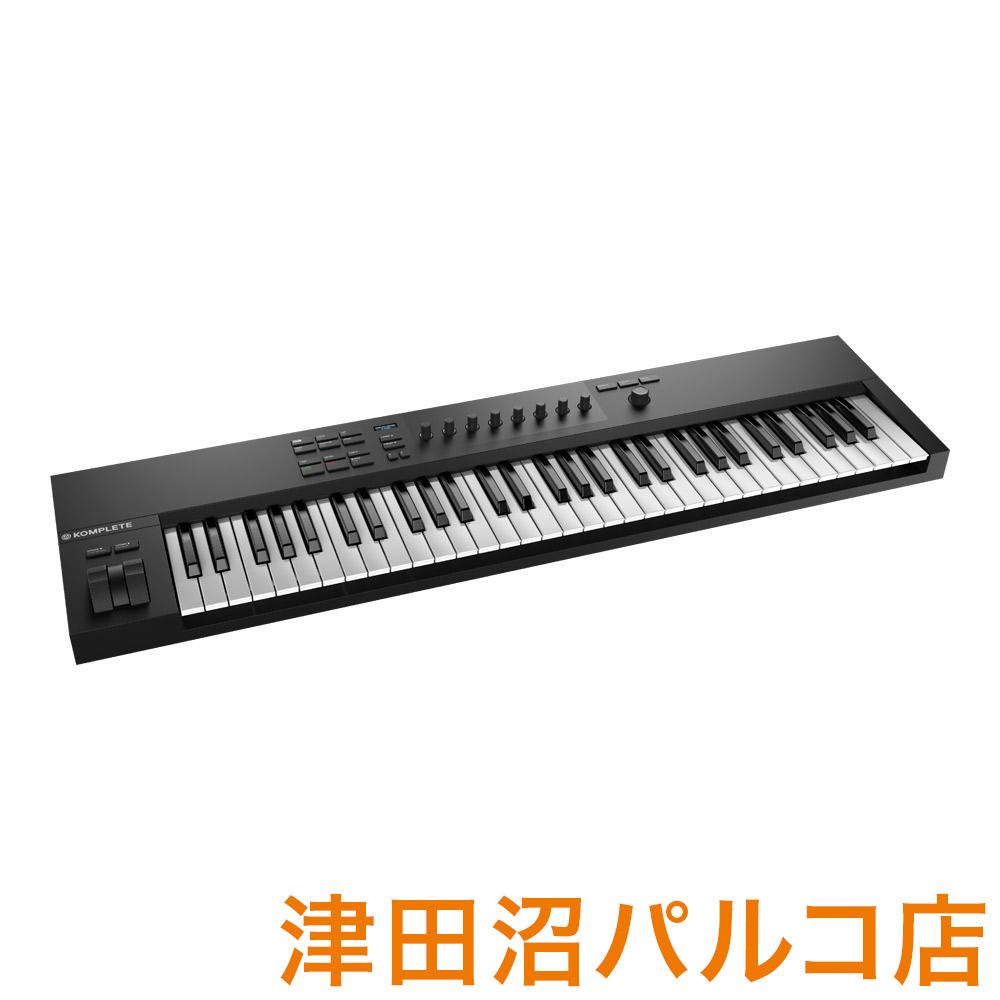 Native Instruments(NI) KOMPLETE KONTROL A61 MIDIキーボード 61鍵盤 【ネイティブインストゥルメンツ KKA61】【津田沼パルコ店】