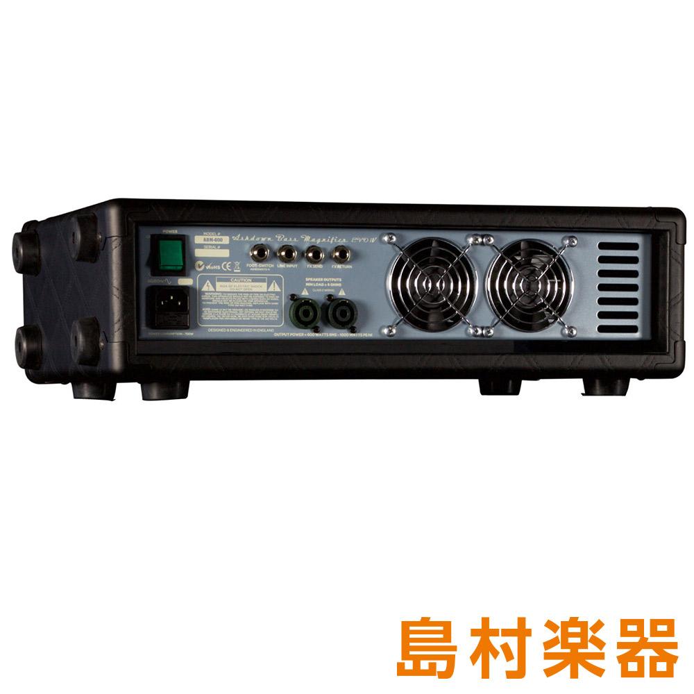 Ashdown ABM-600-EVO IV 20th ベースアンプヘッド 20周年記念限定モデル 【アッシュダウン】