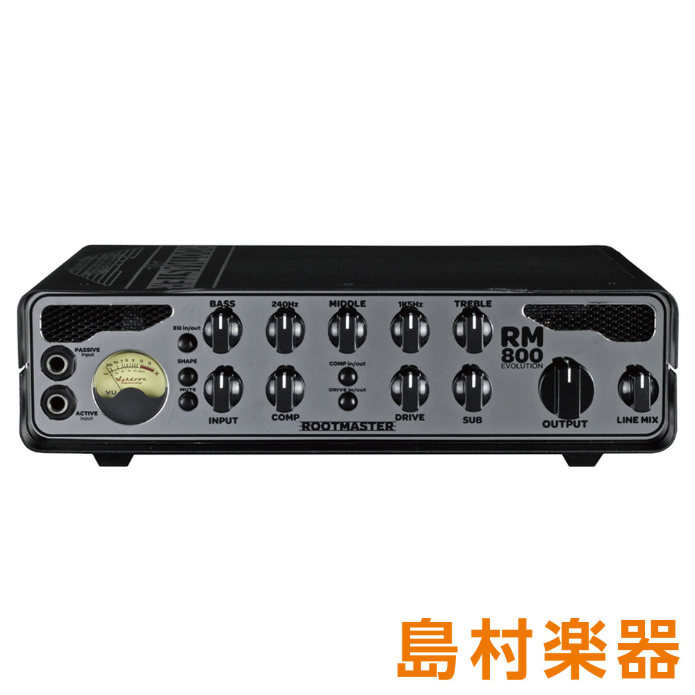 Ashdown RM-800-EVO ベースアンプヘッド ROOTMASTERシリーズ 【アッシュダウン】