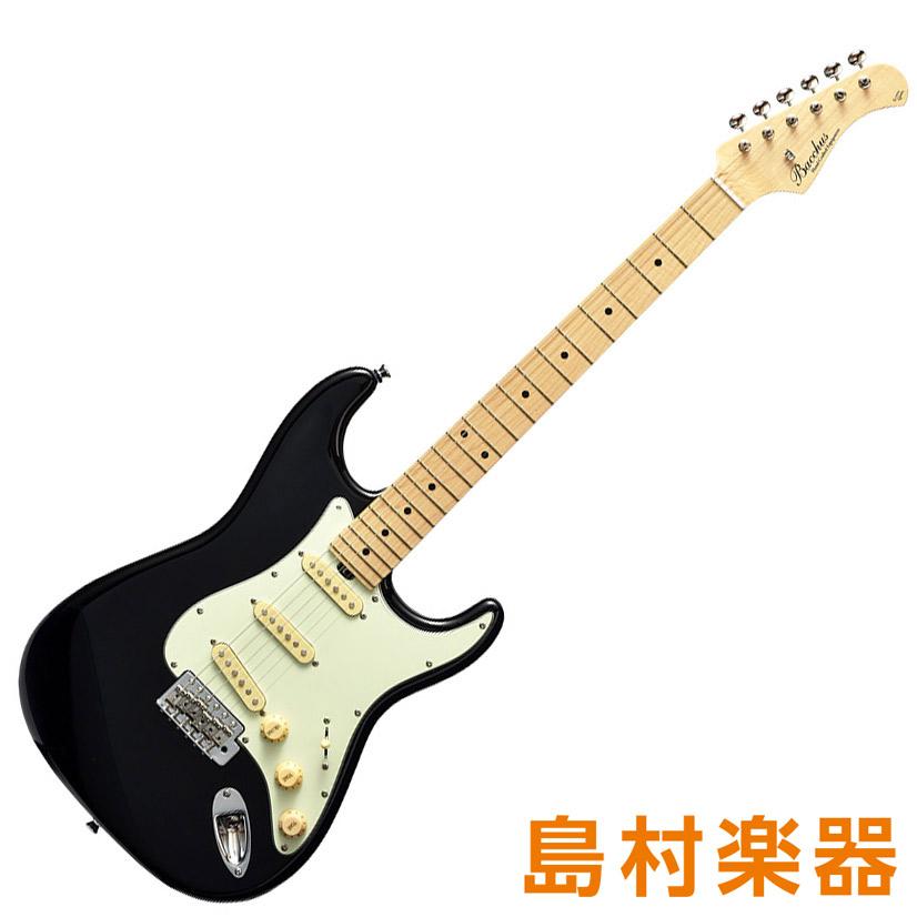Bacchus BST-650B/M BLK ブラック エレキギター グローバルシリーズ メイプル指板モデル 【バッカス】