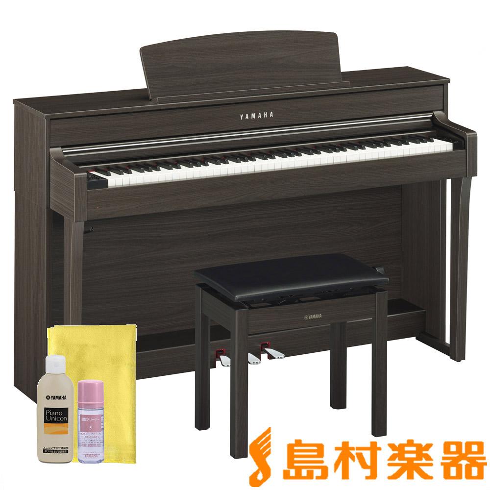 YAMAHA CLP-645DW ダークウォルナット調 電子ピアノ クラビノーバ 88鍵盤 【ヤマハ CLP645】【配送設置無料・代引き払い不可】【別売り延長保証対応プラン:D】