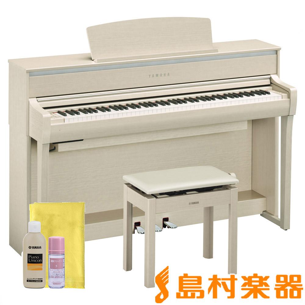 YAMAHA CLP-675WA 電子ピアノ クラビノーバ 88鍵盤 【ヤマハ CLP675 Clavinova】【配送設置無料・代引き払い不可】【別売り延長保証対応プラン:C】
