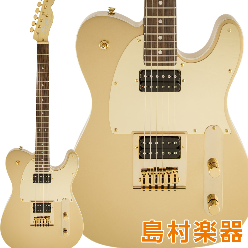 Squier by Fender J5 Telecaster Laurel Fingerboard Frost Gold テレキャスター エレキギター 【スクワイヤー / スクワイア】