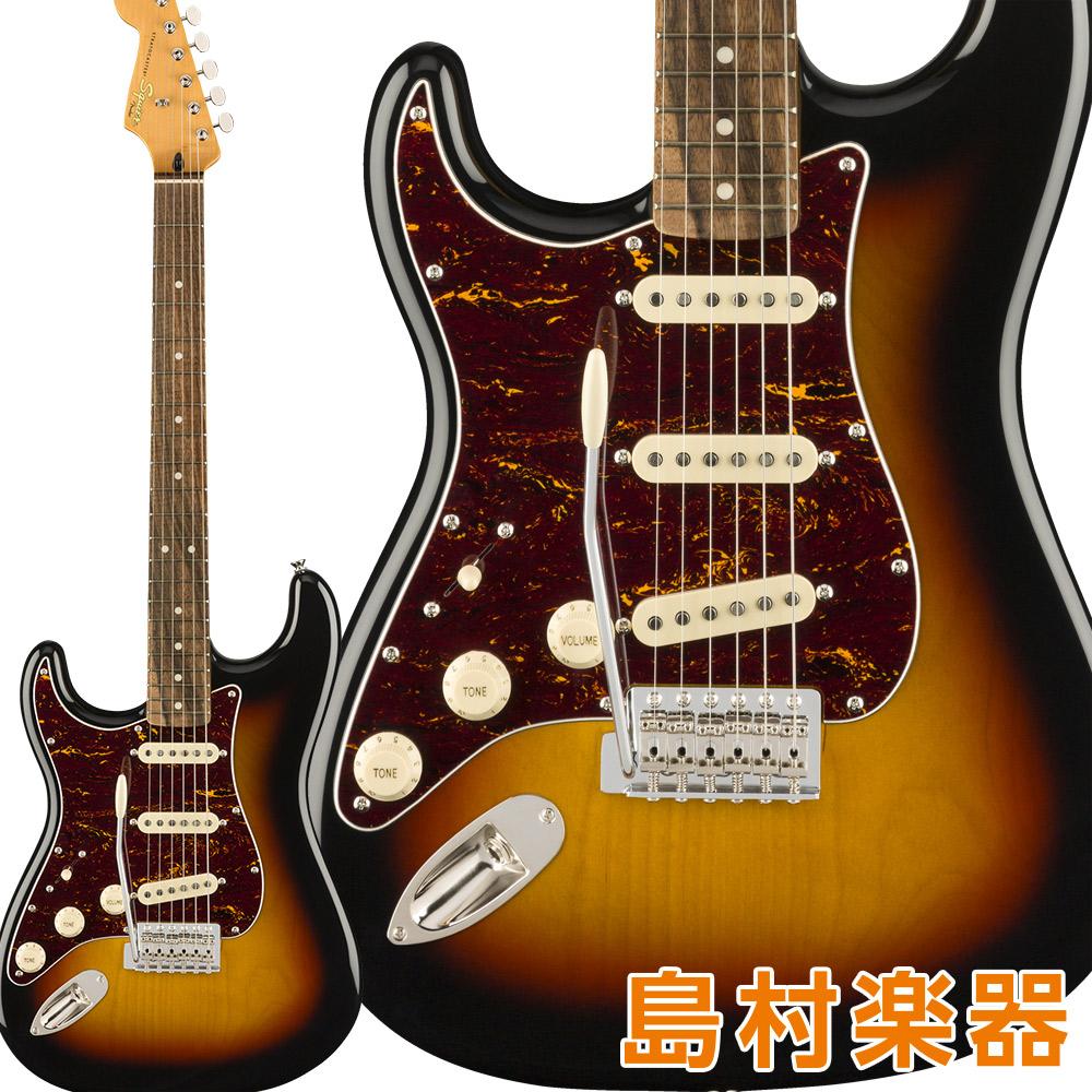 Squier by Fender Classic Vibe Stratocaster '60s Left-Handed Laurel Fingerboard 3-Color Sunburst ストラトキャスター エレキギター レフトハンド 【スクワイヤー / スクワイア】