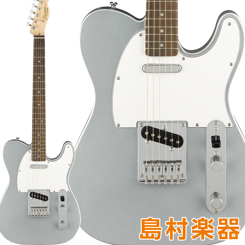 Squier by Fender Affinity Series by Telecaster Laurel Fingerboard テレキャスター Fingerboard Slick Silver エレキギター テレキャスター【スクワイヤー/ スクワイア】, イバラキヤ:6ce31bd3 --- sunward.msk.ru