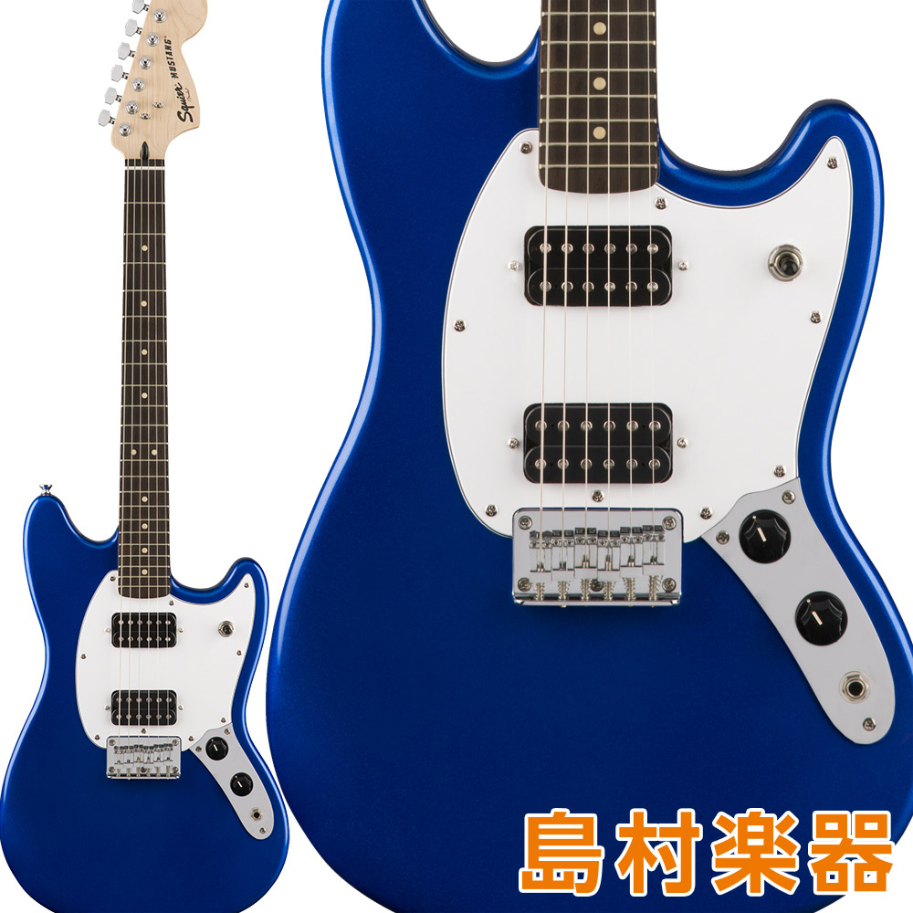 Squier/ by Fender エレキギター Bullet HH Mustang HH Laurel Fingerboard Imperial Blue エレキギター ムスタング【スクワイヤー/ スクワイア】, 質カトウ:6d0c601e --- sunward.msk.ru