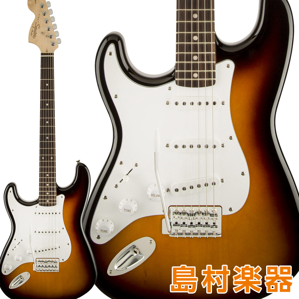 Squier Series by Stratocaster Fender Affinity Series Stratocaster Sunburst Left-Handed Laurel Fingerboard Brown Sunburst エレキギター ストラトキャスター レフトハンド【スクワイヤー/ スクワイア】, デックマーケット:1544a139 --- sunward.msk.ru
