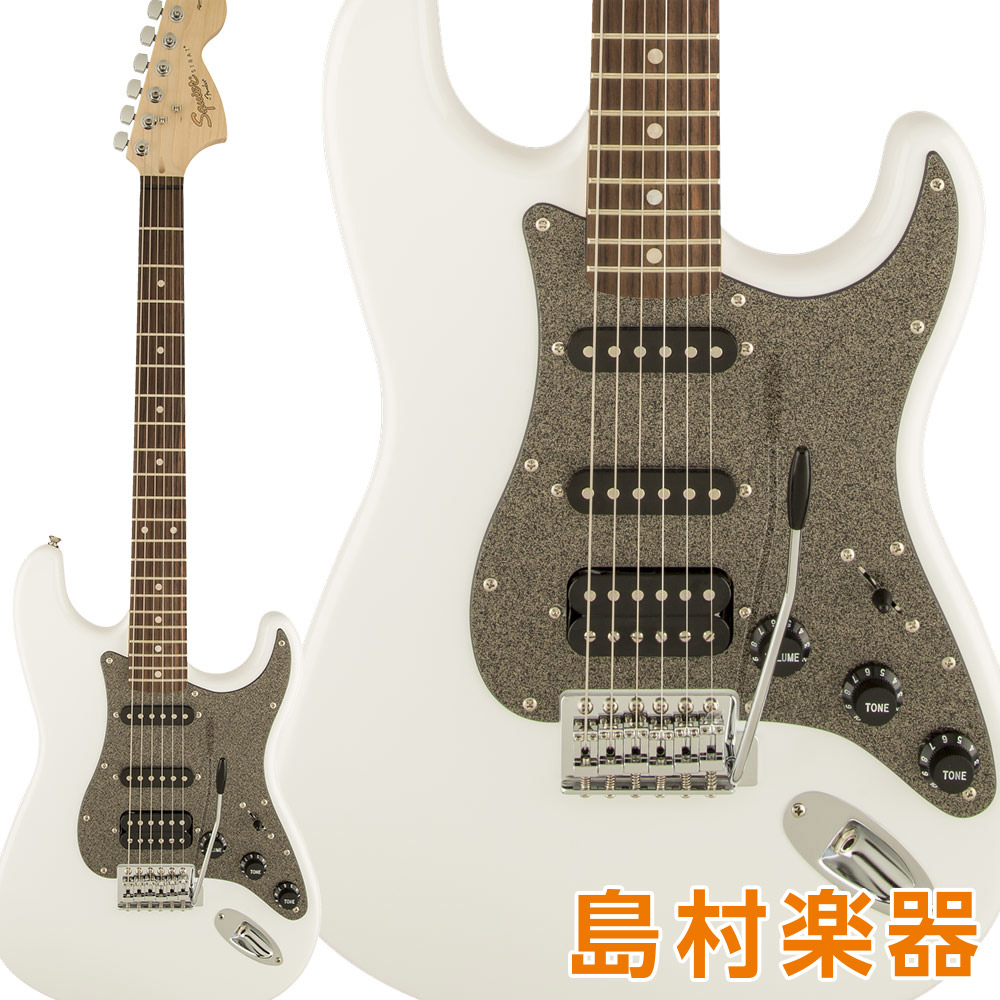 Squier by Fender Affinity Series Stratocaster HSS Laurel Fingerboard Olympic White エレキギター ストラトキャスター 【スクワイヤー / スクワイア】