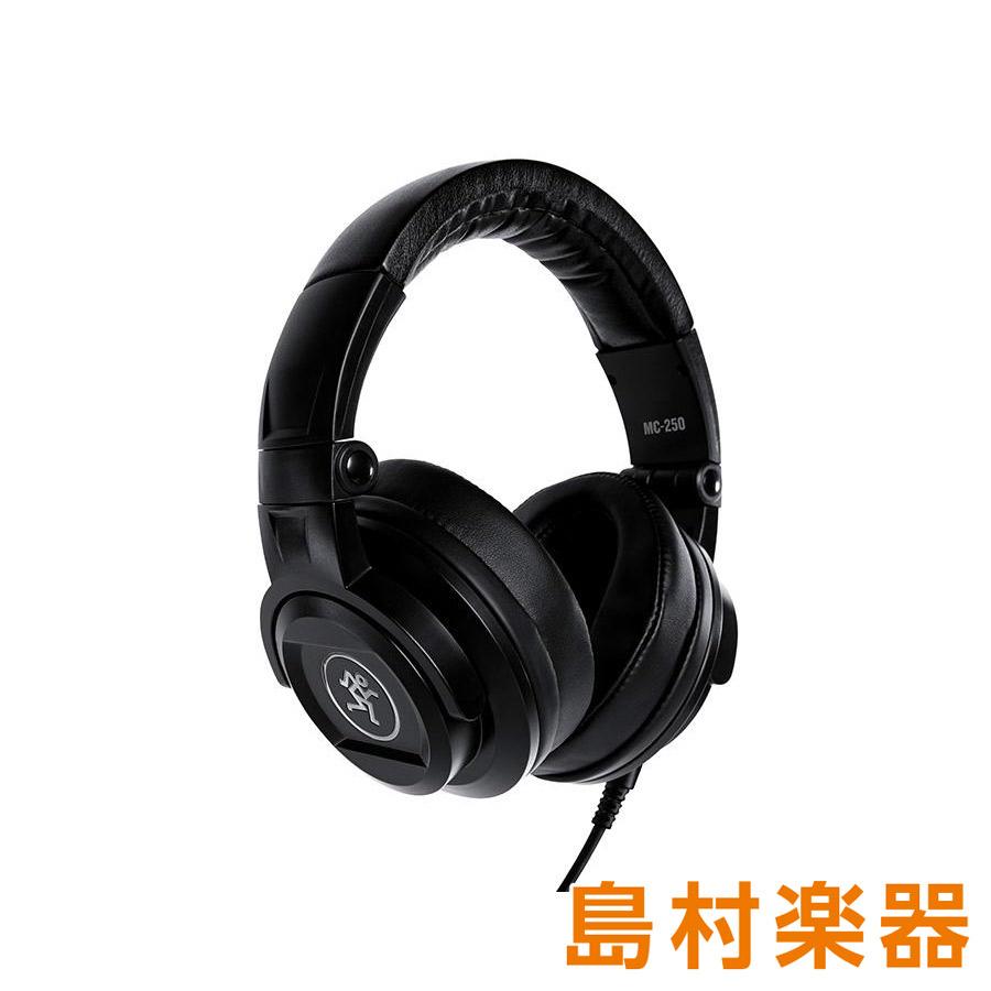 MACKIE MC-250 プロフェッショナル密閉型ヘッドホン 【マッキー MC250】