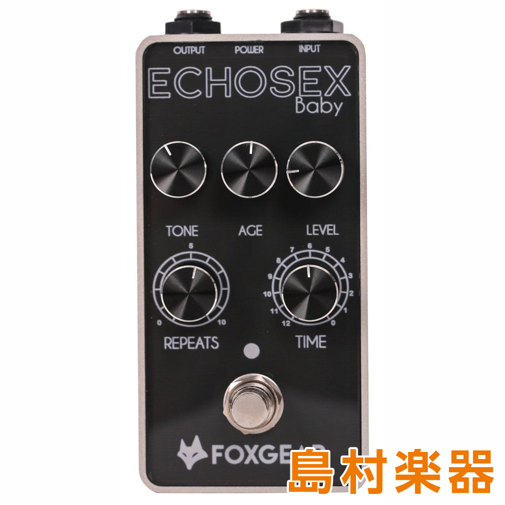 FOXGEAR ECHOSEX BABY コンパクトエフェクター/アナログディレイ 【フォックスギア】
