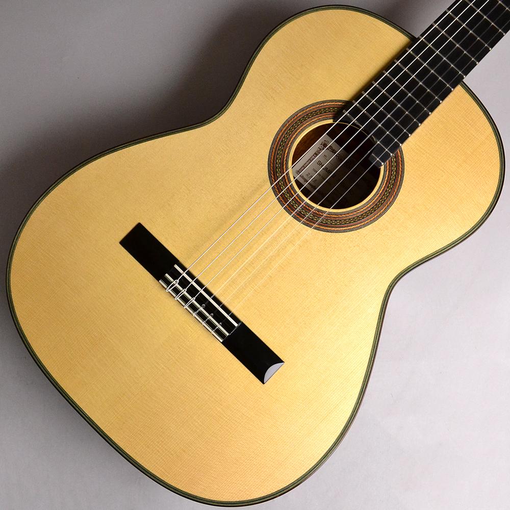 西野春平 NR5S/松/ニューハカランダ/510QC/640mm 国産手工クラシックギター 【 NR5】【イオンモール幕張新都心店】