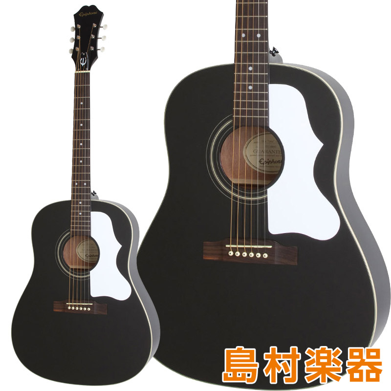 Epiphone LTD Masterbilt AJ-45 Ebony アコースティックギター 【エピフォン】