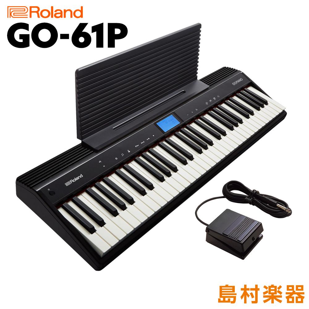 Roland GO:PIANO GO-61P キーボード【61鍵】【61鍵】【ローランド GO61P GO:PIANO GOPIANO キーボード】, CooLZONもっと眠りを楽しもう!:70211ba5 --- vidaperpetua.com.br