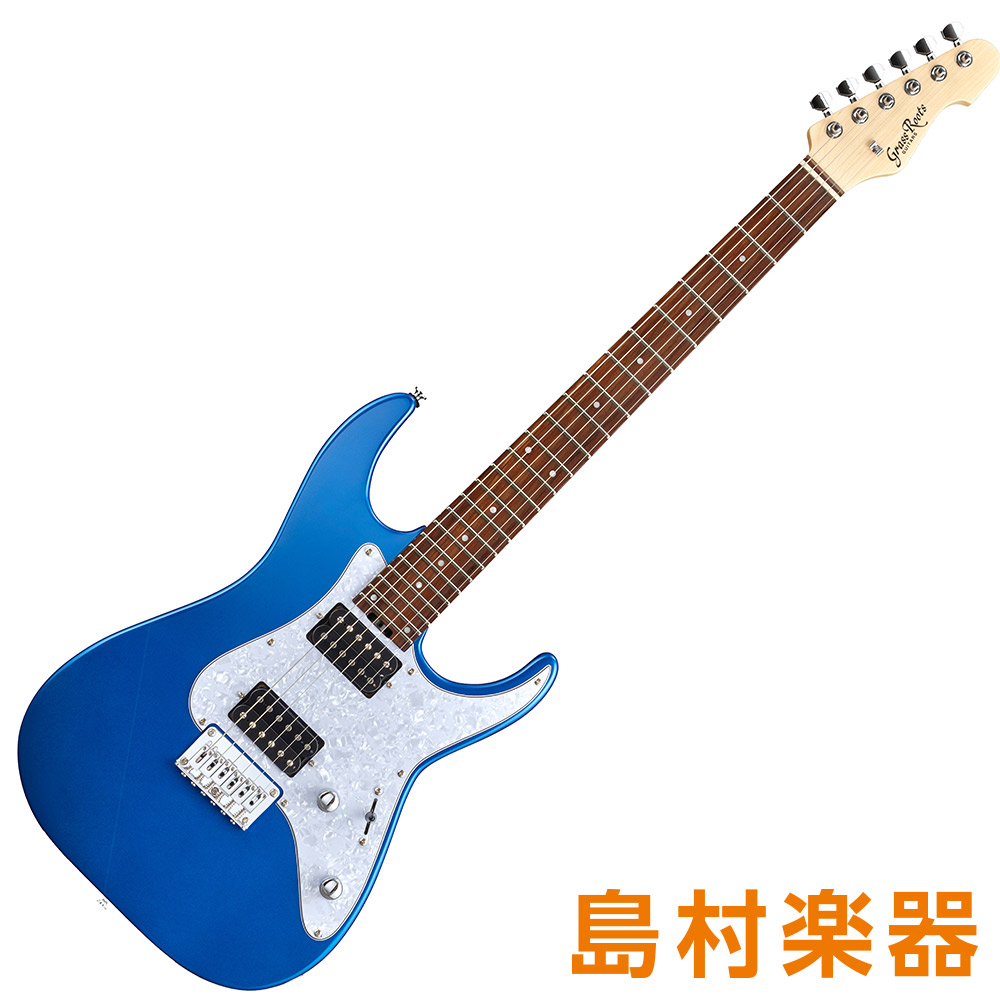 GrassRoots G-MR-45DX Metallic Blue エレキギター 【グラスルーツ】