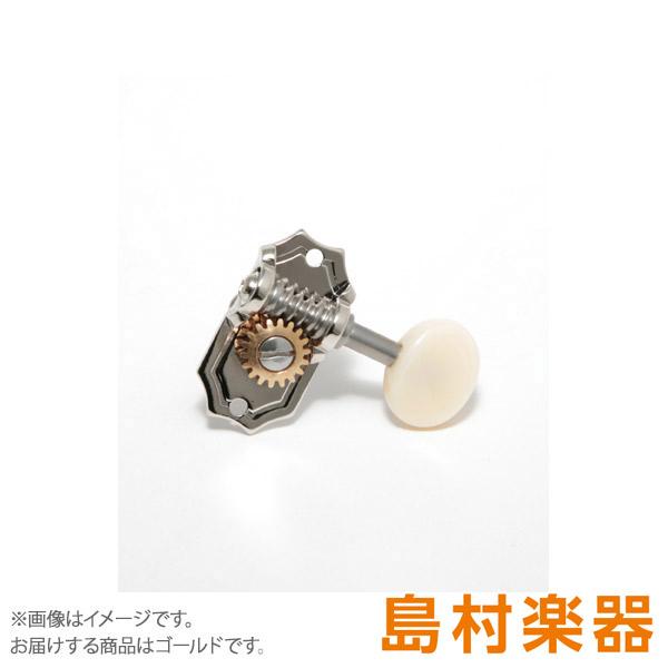 KLUSON 4 per Side SPB Gold ペグ プレステージ・シリーズ 【クルーソン】