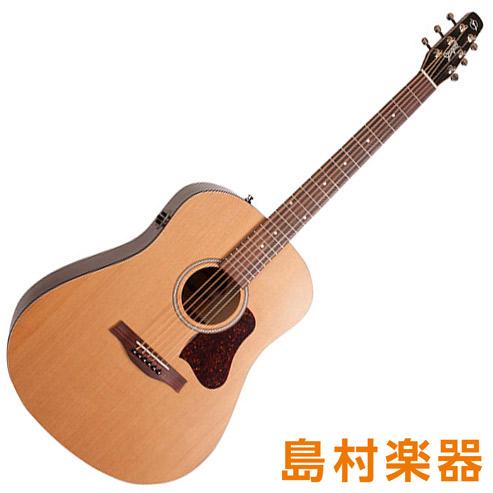 Seagull S6 Cedar Original Slim Q1T エレアコギター 【シーガル】