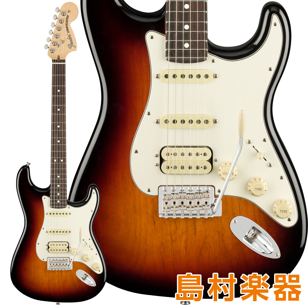 Fender American Performer Stratocaster HSS Rosewood Fingerboard 3-Color Sunburst エレキギター 【フェンダー】