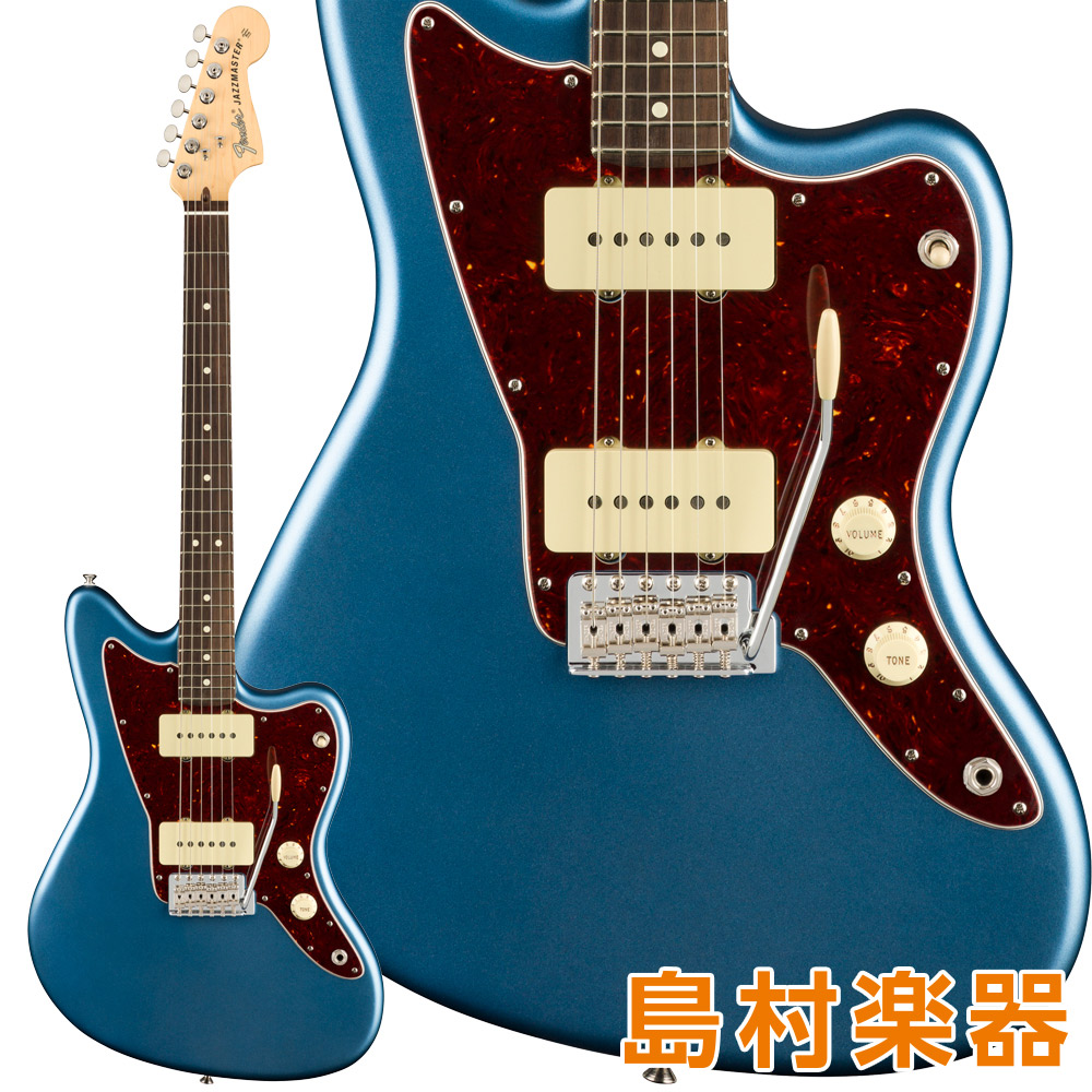 Fender American Performer Jazzmaster Rosewood Fingerboard Satin Lake Placid Blue エレキギター 【フェンダー】