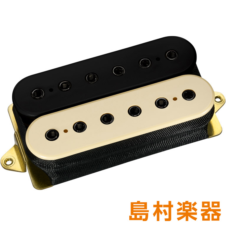 DiMarzio DP151F Black/Cream ピックアップ PAF Pro F-spaced 【ディマジオ】