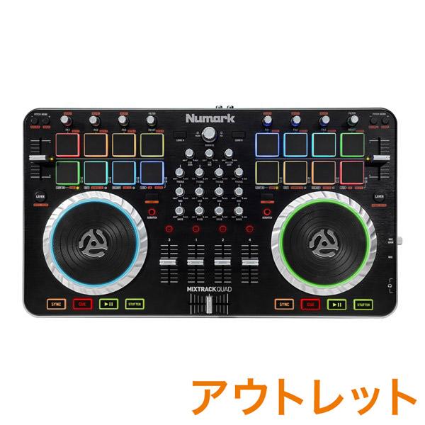 Numark MIXTRACK QUAD DJコントローラー 【アウトレット】 【ヌマーク】