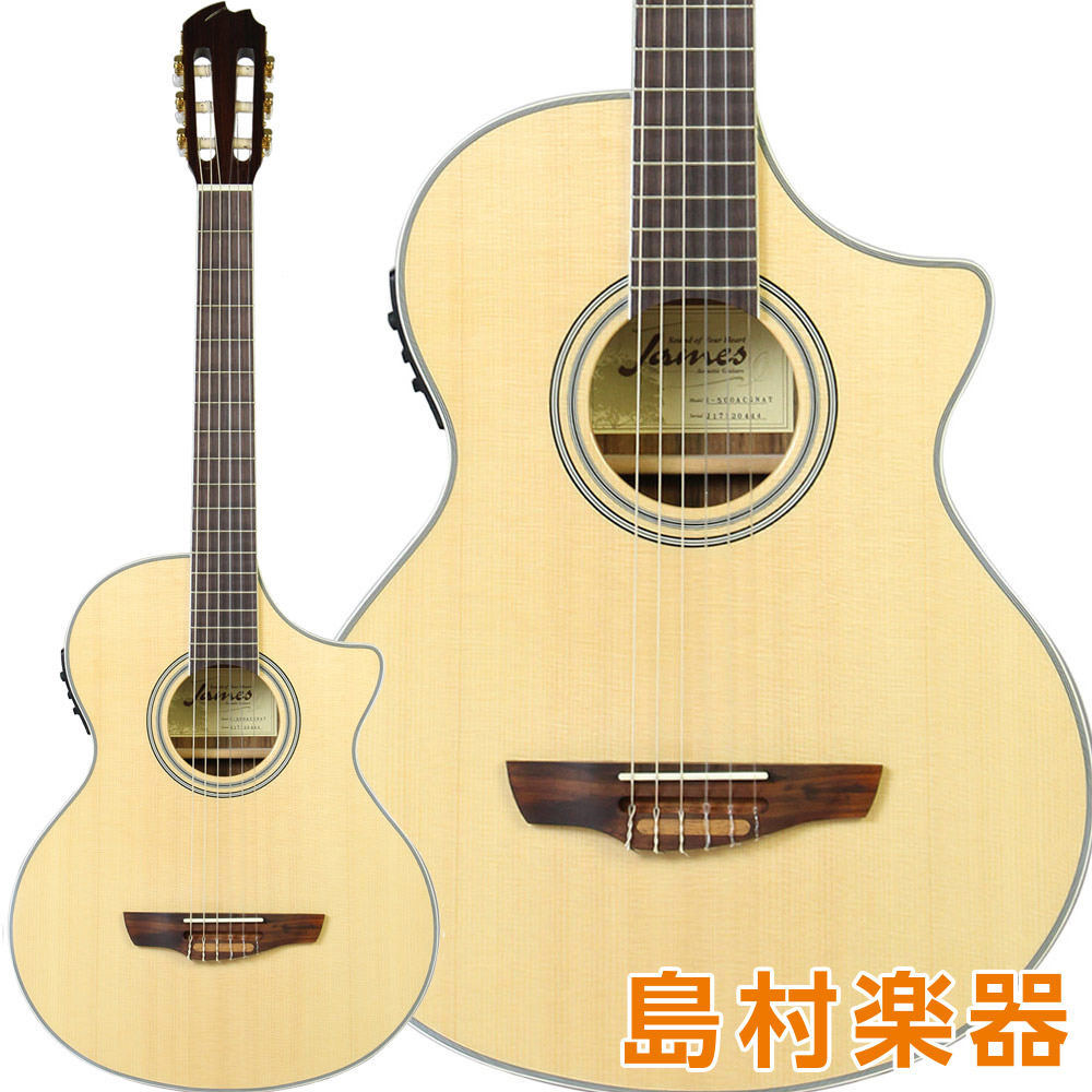 James J-500ACG ナチュラル エレガットギター 【ジェームス】