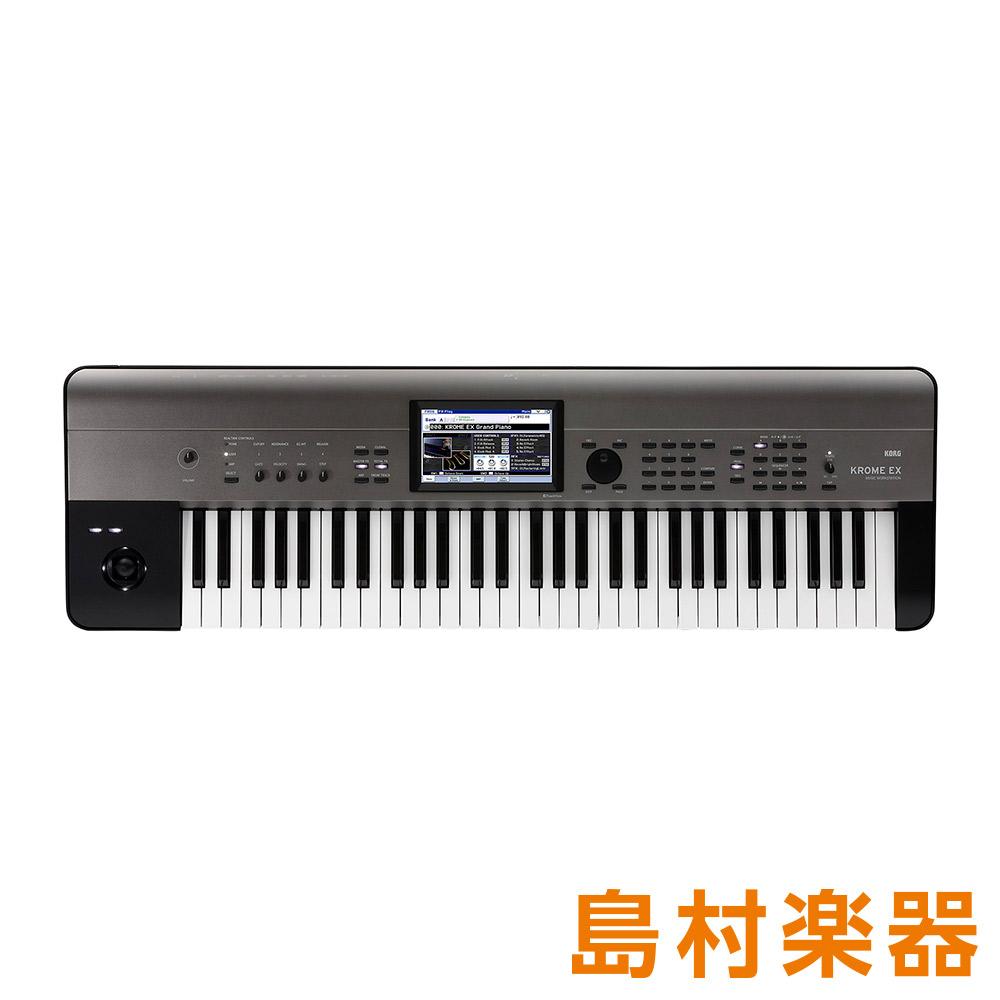 KORG KROME-61EX シンセサイザー 【コルグ KROME61EX】