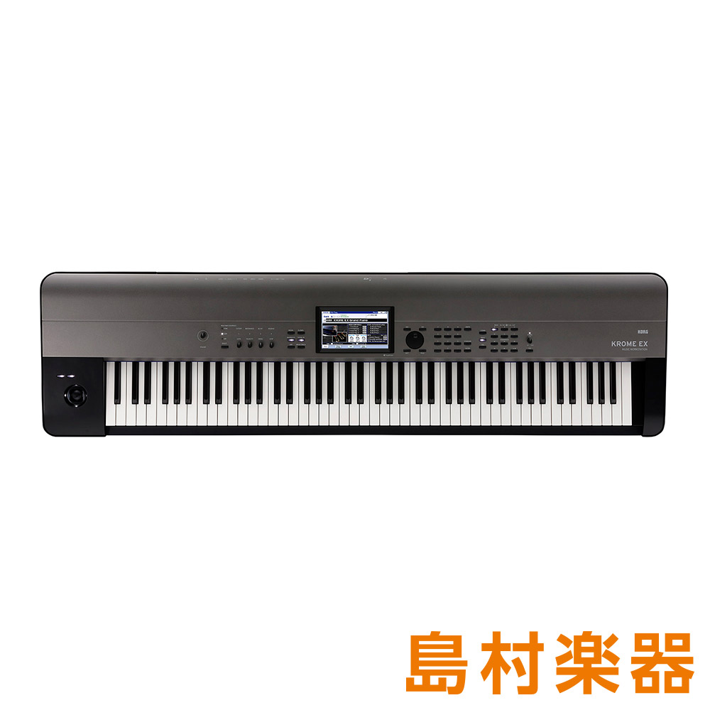 KORG KROME-88EX シンセサイザー 【コルグ KROME88EX】
