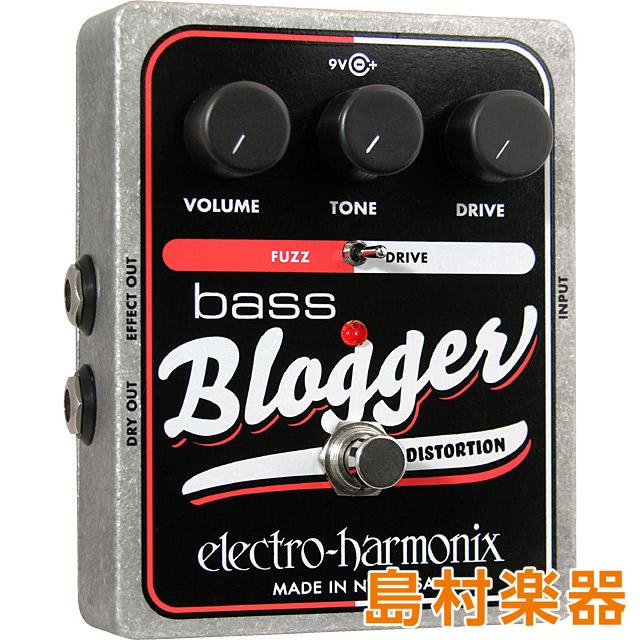 Electro Harmonix BASS BLOGGER コンパクトエフェクター ベース用ファズ ディストーション 【エレクトロハーモニックス】