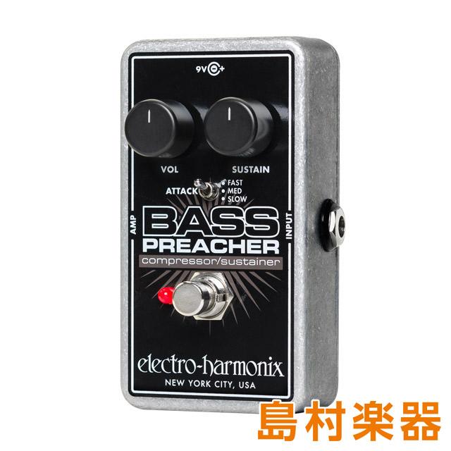 Electro Harmonix BASS PREACHER コンパクトエフェクター コンプレッサー サスティナー 【エレクトロハーモニックス】