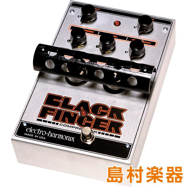 再再販! Electro Harmonix FINGER BLACK FINGER コンパクトエフェクター 真空管コンプレッサー Harmonix BLACK【エレクトロハーモニックス】, ヨコガワチョウ:10625219 --- canoncity.azurewebsites.net