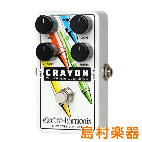Electro Harmonix CRAYON02 コンパクトエフェクター オーバードライブ 【エレクトロハーモニックス】