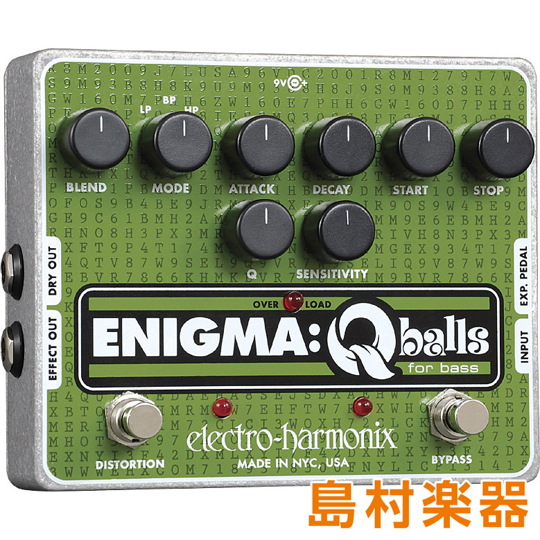 Electro Harmonix ENIGMA ベース用エンベロープフィルター 【エレクトロハーモニックス】
