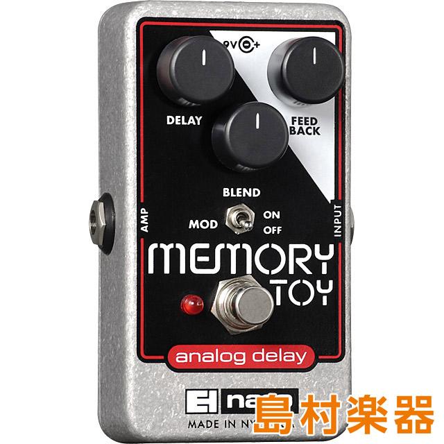 100%品質 Electro Harmonix MEMORY Electro TOY TOY コンパクトエフェクター MEMORY アナログディレイ【エレクトロハーモニックス】, Quelle:5611d64d --- canoncity.azurewebsites.net