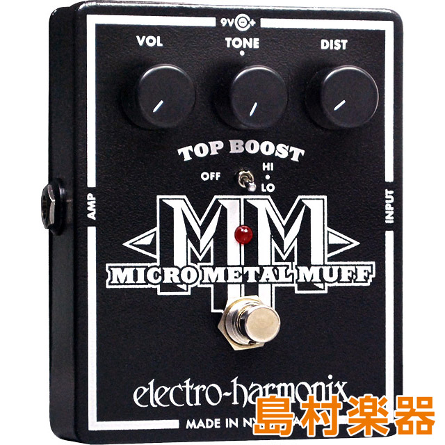 Electro Harmonix MICRO METAL MUFF コンパクトエフェクター ディストーション 【エレクトロハーモニックス】