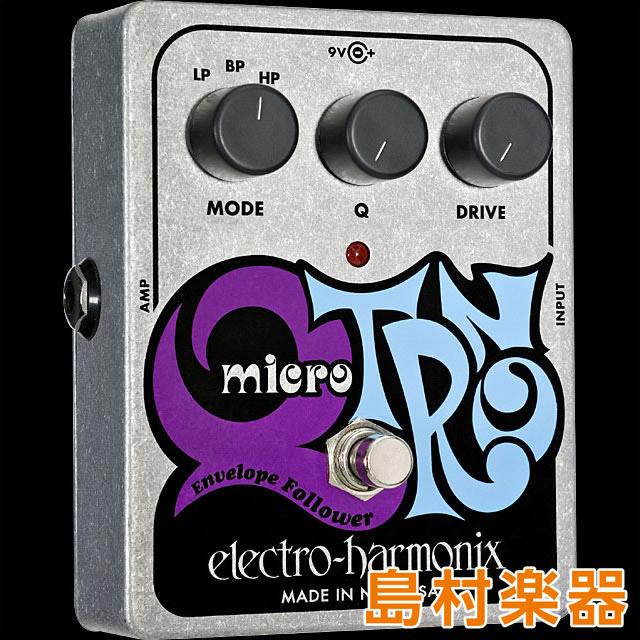 Electro Harmonix MICRO Q-TRON コンパクトエフェクター エンベロープフォロワー 【エレクトロハーモニックス】