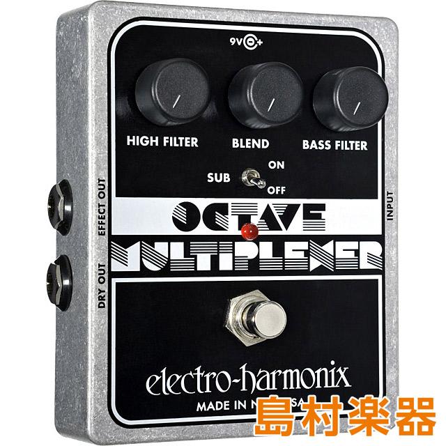 最も優遇の Electro Harmonix Harmonix OCTAVE MULTIPLEXER Electro コンパクトエフェクター MULTIPLEXER オクターバー【エレクトロハーモニックス】, s.s shop:01502795 --- canoncity.azurewebsites.net