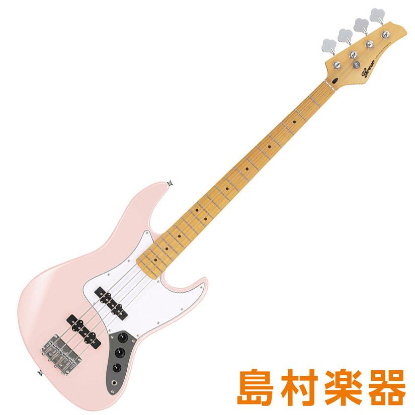 Greco WIB-J MA LPK Light Pink エレキベース Maple Fingerboard 【グレコ】